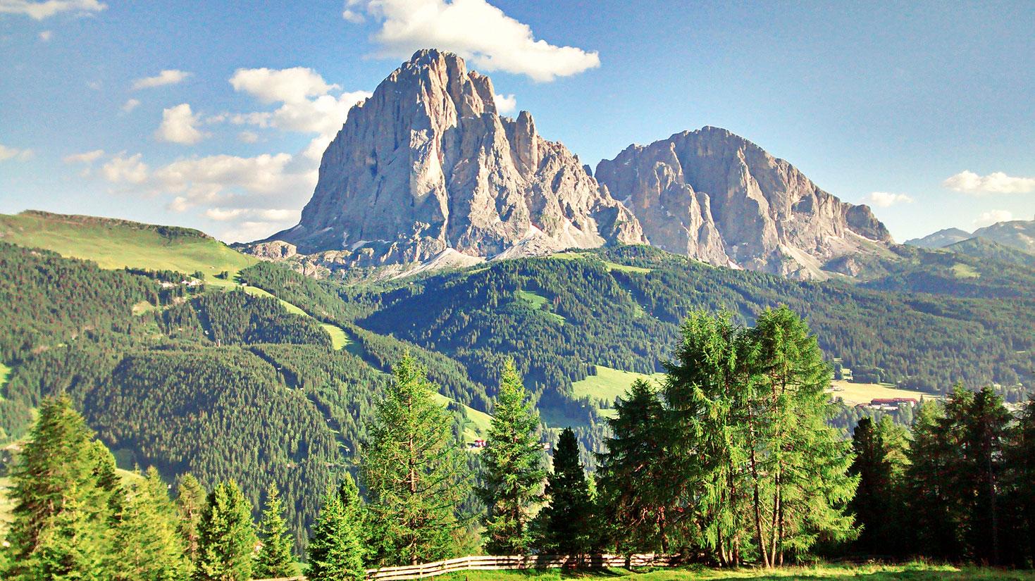 Val Gardena, Dolomiti, Italia