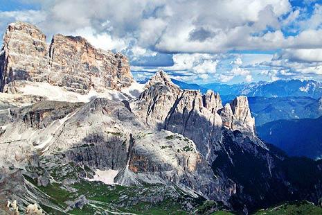 Croda dei Toni, Dolomiti