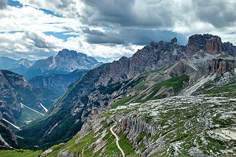 Peisaj in Dolomiti