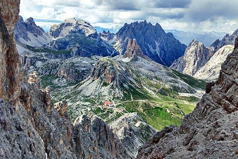 Rifugio Locatelli, Dolomiti